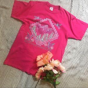 VTG 90s Grand Tetons National Park T-shirt.